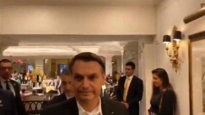 Bolsonaro diz que vai apresentar ao mundo Brasil em construção