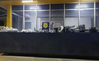 POLÍCIA RODOVIÁRIA FEDERAL APREENDE GRANDE QUANTIDADE DE ANABOLIZANTES.