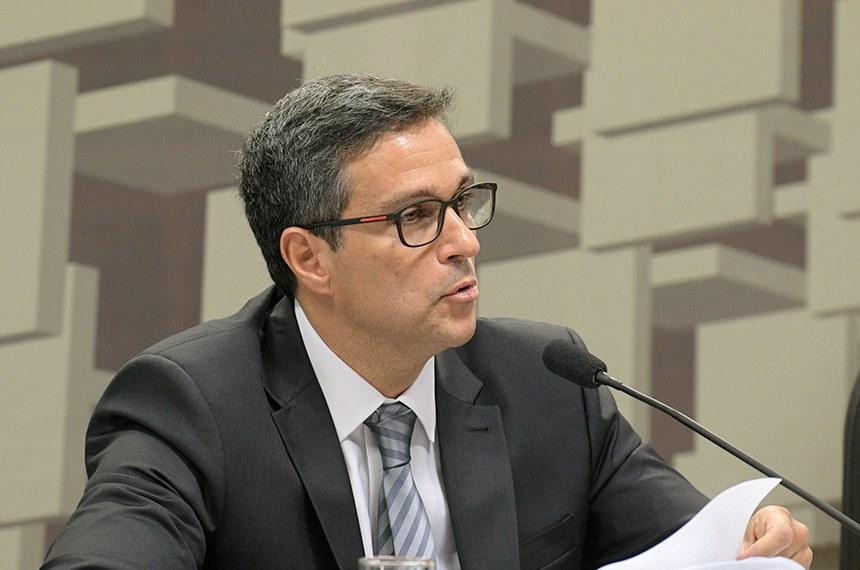 Campos Neto reiterou que o câmbio é flutuante