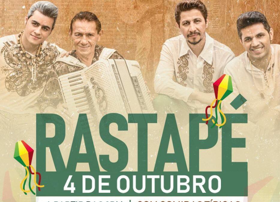 Show do Rastapé no Camilas dia 4 de outubro em Orlando