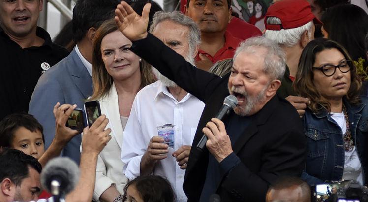 Cadê o STF ? Lula incita a violência.