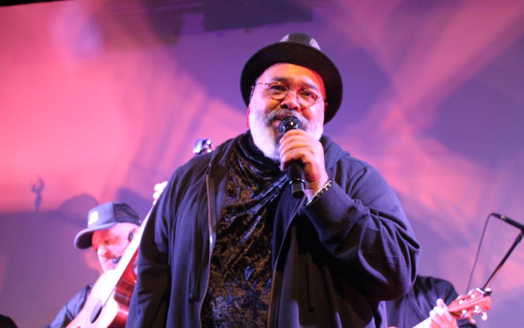 Cantor Jorge Aragão  em Orlando