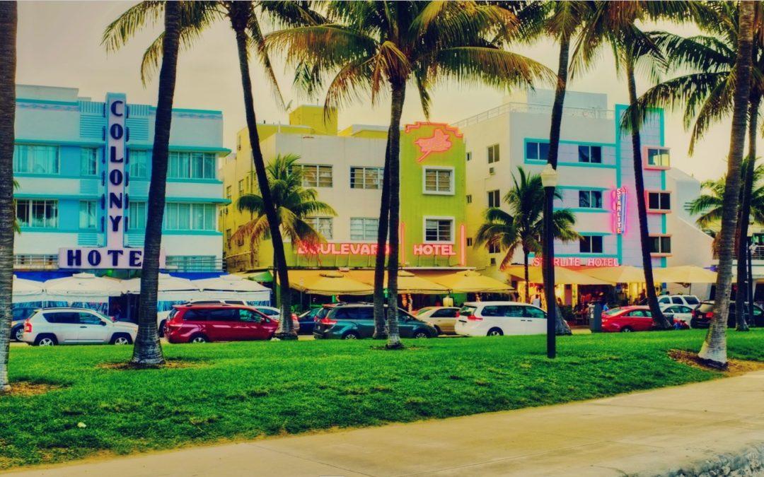 Praias na Florida reabrindo 1o. de Junho