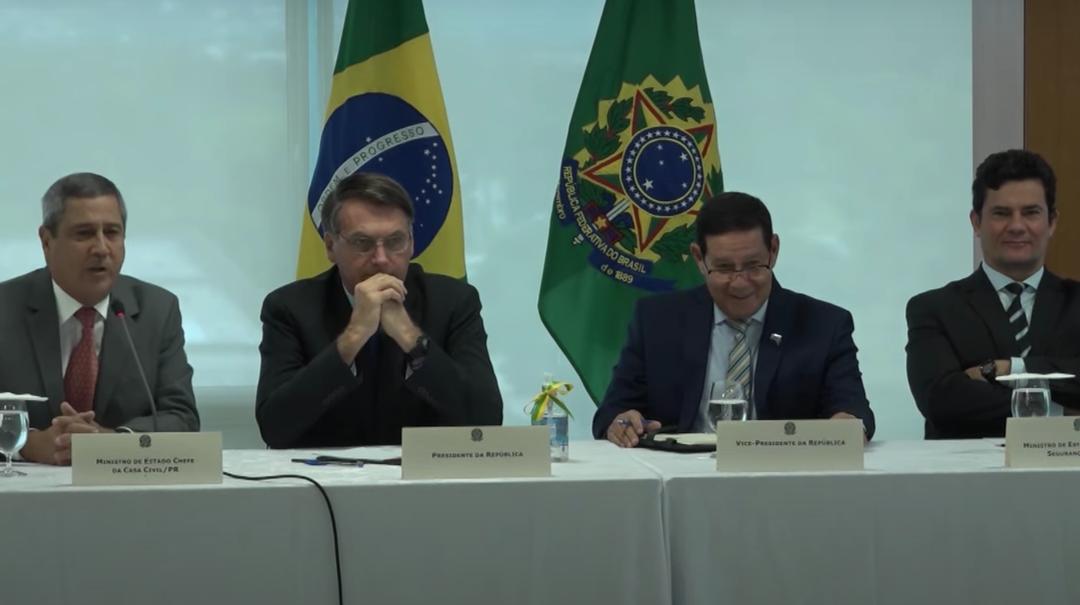 VIDEO COMPLETO  Autorizado pelo Ministro Celso de Mello o vídeo da reunião ministerial