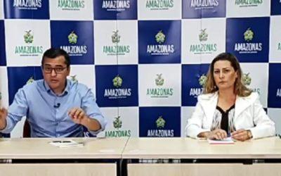 Governador do Amazonas é alvo de buscas da PF por fraudes na saúde