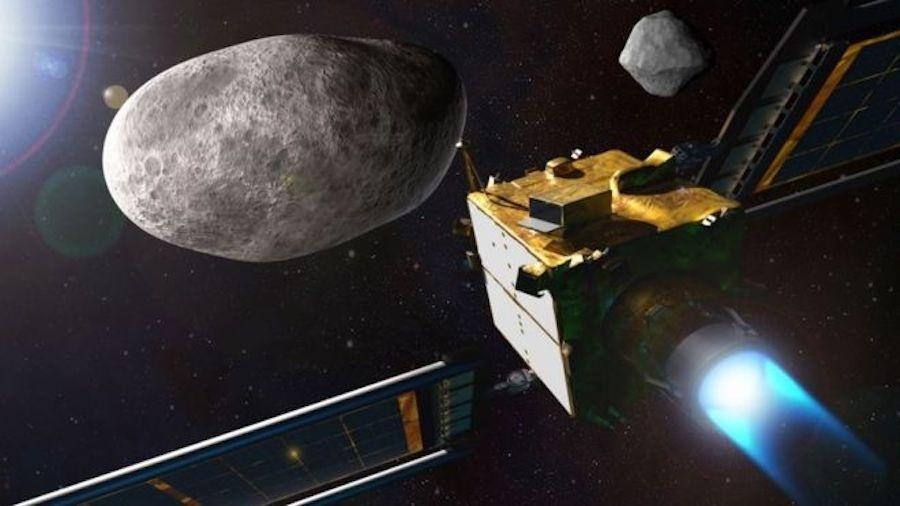 Dimorphos, o Asteroide que a NASA tentara desviar em sua 1a Missão de Defesa Planetária