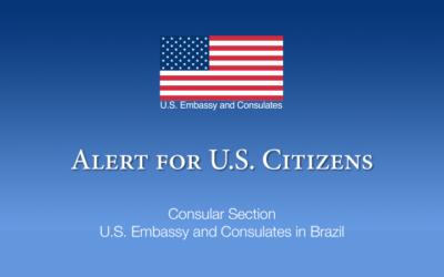 Alerta de saúde   decreto proibindo a entrada de estrangeiros no Brasil
