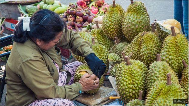 Como a fruta mais fedida do mundo gerar energia para seu telefone