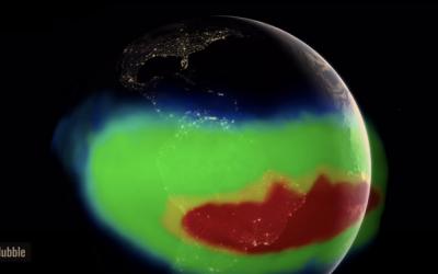 Nasa investiga anomalia no campo magnético da Terra que pode provocar caos nas comunicações