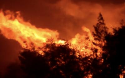 As imagens de satélite que mostram avanço de fumaça de queimadas no Brasil