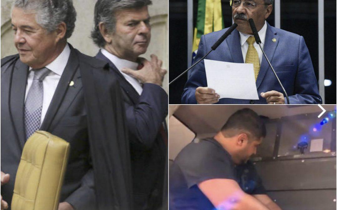 Fuga de André do Rap e dinheiro na cueca de senador marcam a semana