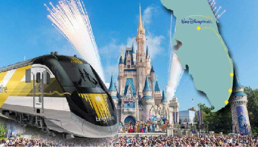 Miami, ultra rápido para Disney via Brightline