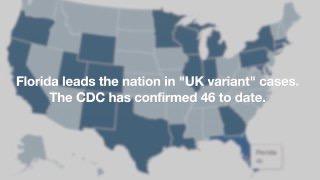 A Flórida lidera a nação em casos de variantes COVID-19; especialistas em saúde pedem proteção contra vírus
