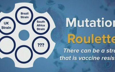 Mutações do COVID-19 estão aparecendo rapidamente enquanto os EUA ultrapassam 400.000 mortes