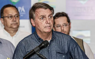 """Após polêmica, Bolsonaro ironiza: """"Brasil está bem, está uma maravilha"""""""