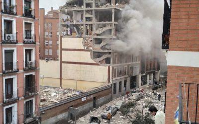 Explosão atinge prédio no centro de Madri e deixa pelo menos 3 mortos