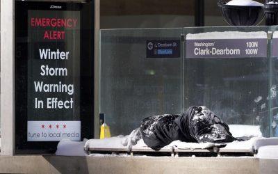 Um frio recorde sem energia  pelo menos 20 mortos USA