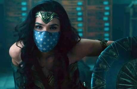 Warner coloca máscaras em seus personagens por campanha de conscientização ( veja o vídeo)