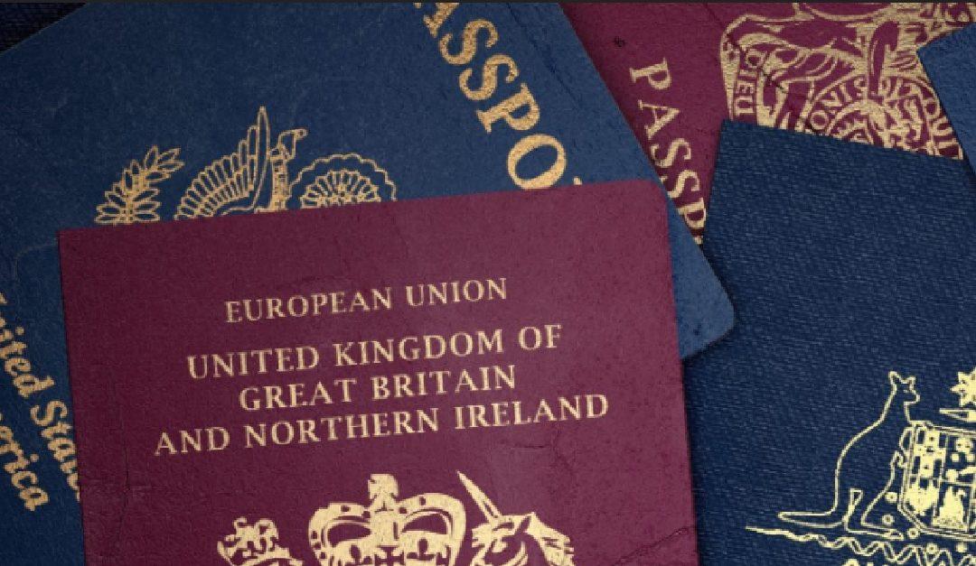 "Understanding the privilege of having a ""rich"" passport"