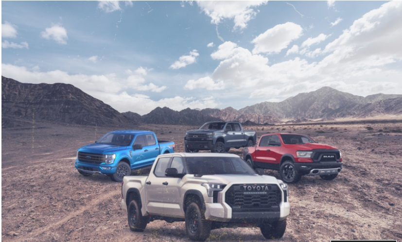 2022 Toyota Tundra TRD Pro vs. the Off-Road Pickup Competition