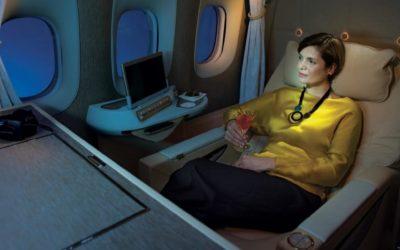 Muito luxo viajar de avião em Mini Suites. Que tal ?